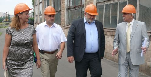 Голова Дніпровської РДА відвідав завод ДВРЗ
