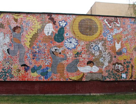 Мозаїчні панно на Березняках