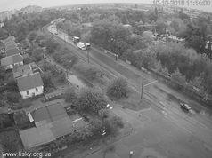 На мосту ДВРЗ знову стоять трамваї