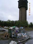 Комунальники Дніпровського району Києва припинили роздільний збір сміття
