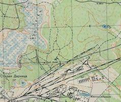 Карта РККА 1932 року