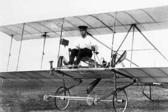 Сікорський на першому своєму літаку
