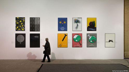 Виставка плакатів у Мистецькому арсеналі