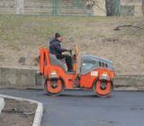 Незважаючи на похолодання, у Києві продовжується ремонт доріг