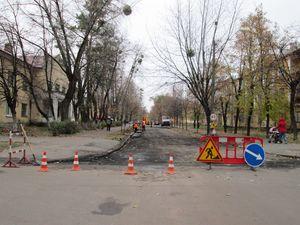 Ремонт доріг на ДВРЗ