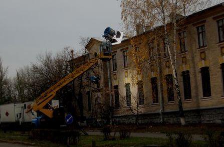 Зйомки фільму на Алма-Атинській