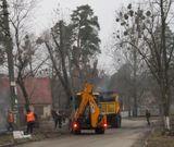 У мікрорайоні ДВРЗ продовжується ремонт доріг. Крім ділянки на Інженера Бородіна