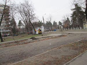 У мікрорайоні ДВРЗ продовжується ремонт доріг