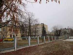 Паркан лікарні №11 на ДВРЗ
