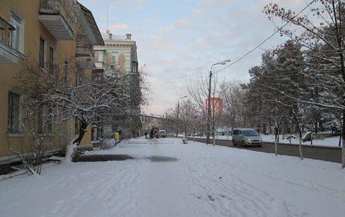 Улица Алма-Атинская на ДВРЗ