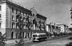 Вулиця Алма-Атинська у 1940-60 роки