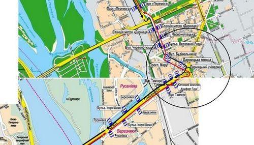 На Дарницькій площі з'явиться новий тролейбусний маршрут