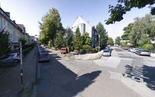 Ріг вулиць Isabellastrasse та Brigittastrasse в Ессені