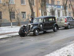 Зимові зйомки фільмів на ДВРЗ