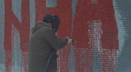 Відновлення меморіалу в Биківні
