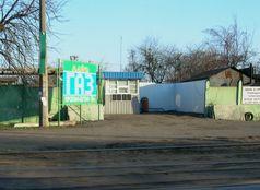 Газова заправка на трамвайній зупинці Укроптбакалія (місцевість ДВРЗ)