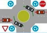 Водіям: підвищуємо пильність на кругових перехрестях!