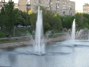 Русанівські фонтани