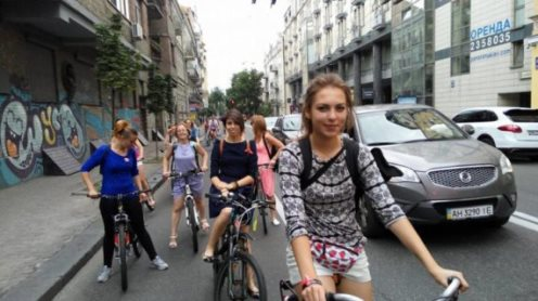 Завтра в Києві рахуватимуть велосипедистів