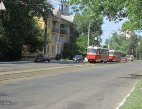 На Алма-Атинській знову стояли трамваї