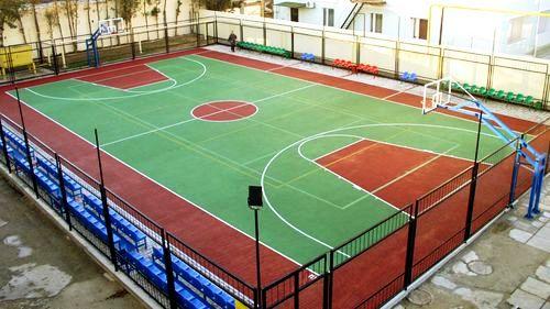 Сучасний баскетбольний майданчик ДВРЗ