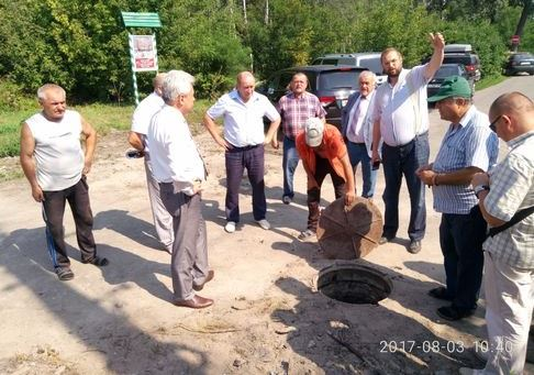 Реконструкція каналізації на ДВРЗ