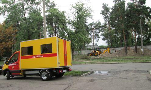 Київтеплоенерго здійснює ремонт мереж
