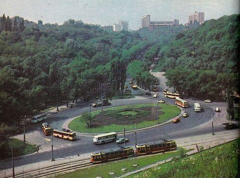 Площа Героїв Великої Вітчизняної війни у 1980-ті роки