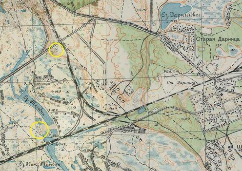 Карта РККА 1932 года