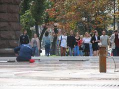 Відучора київські фонтани відключені до весни