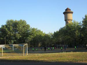 Заняття юних футболістів