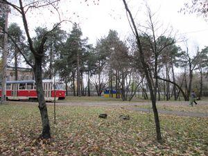 Тягова підстанція на кінцевій зупинці трамваю ДВРЗ