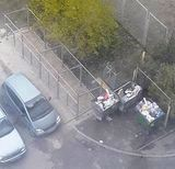 Закриті контейнерні майданчики для сміття