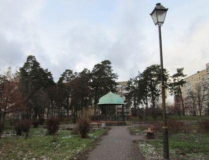 Бювет в парке Сосновом на ДВРЗ