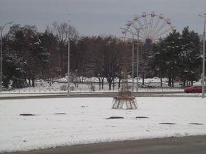 Зима у парку. 2017 рік