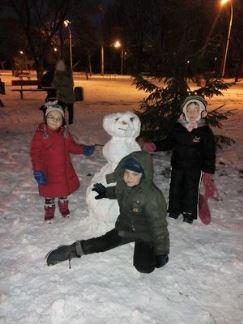 Березняківські сніговики