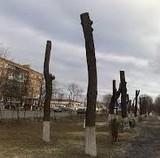 Обрізання дерев на шляхопроводі до ДВРЗ