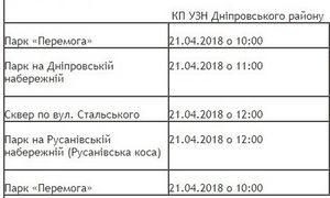 Толоки у Дніпровському районі Києва