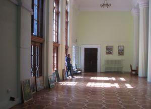 У КМДА - виставка робіт художників Шаповалових