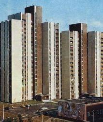 Будинок N6 по проспекту Павла Тичини у 1989 році
