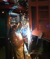 У цеху Дарницького вагоноремонтного заводу
