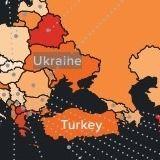 Правозахисна організація виправила карту з Кримом, помилково позначеним як російський
