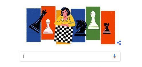 Google посвятил дудл украинской советской шахматистке