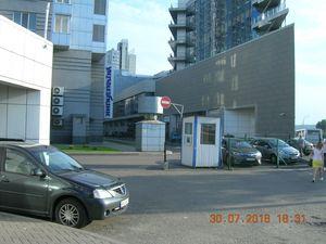 Депутат просить усунути перешкоди в користуванні паркувальним майданчиком