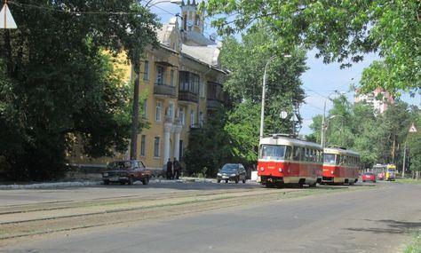 Трамваї на ДВРЗ