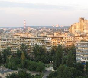 ТЕЦ-5, вигляд з Березняків