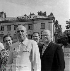 Працівники Дарницького вагоноремонтного заводу. 1966 рік