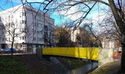 Пішохідний міст у Празі