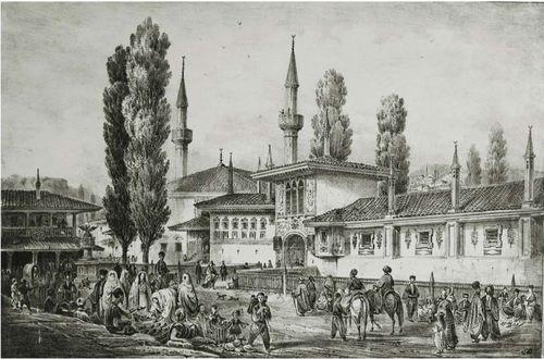 Бахчисарай в середині 19 століття