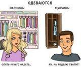 Отличия мужчин и женщин в картинках